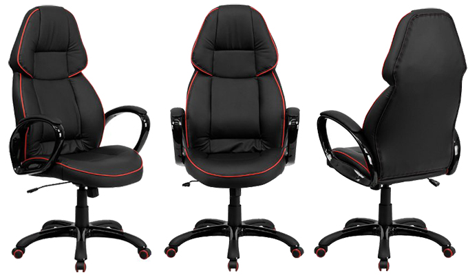 High Back Executive Vinyl Chair